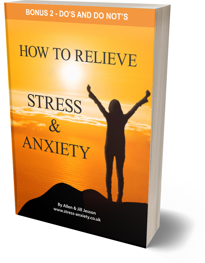 Stress and Anxiety ebook - Bonus 2 Do's and Do Not's cover